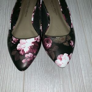 Christian Siriano Shoes - Christian Siriano floral ballet flats size 6